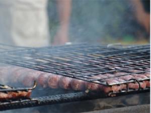 salsicce alla griglia